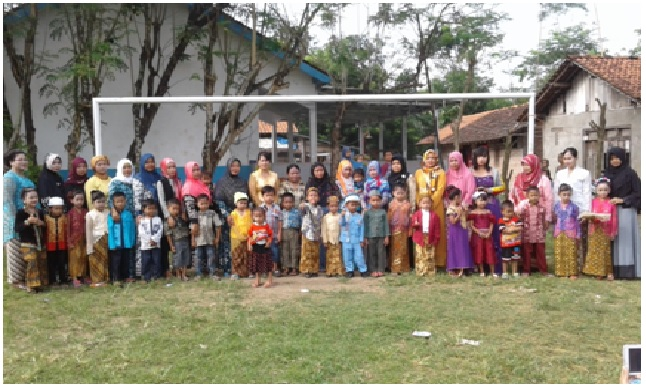 Mengenal Ibu Kartini  Melalui Kegiatan Yang Menyenangkan Ala KB Tunas Bangsa Desa Lenggerong