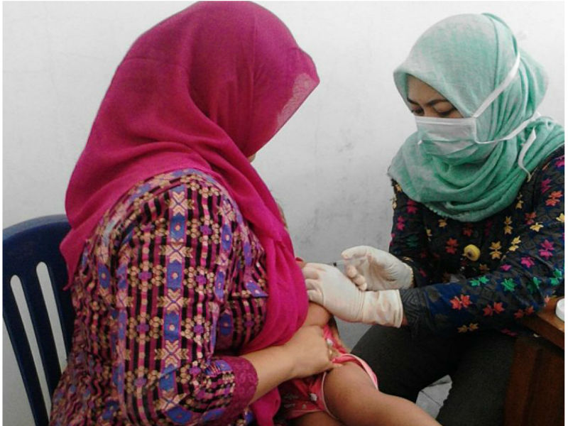 Imunisasi Campak dan Rubella