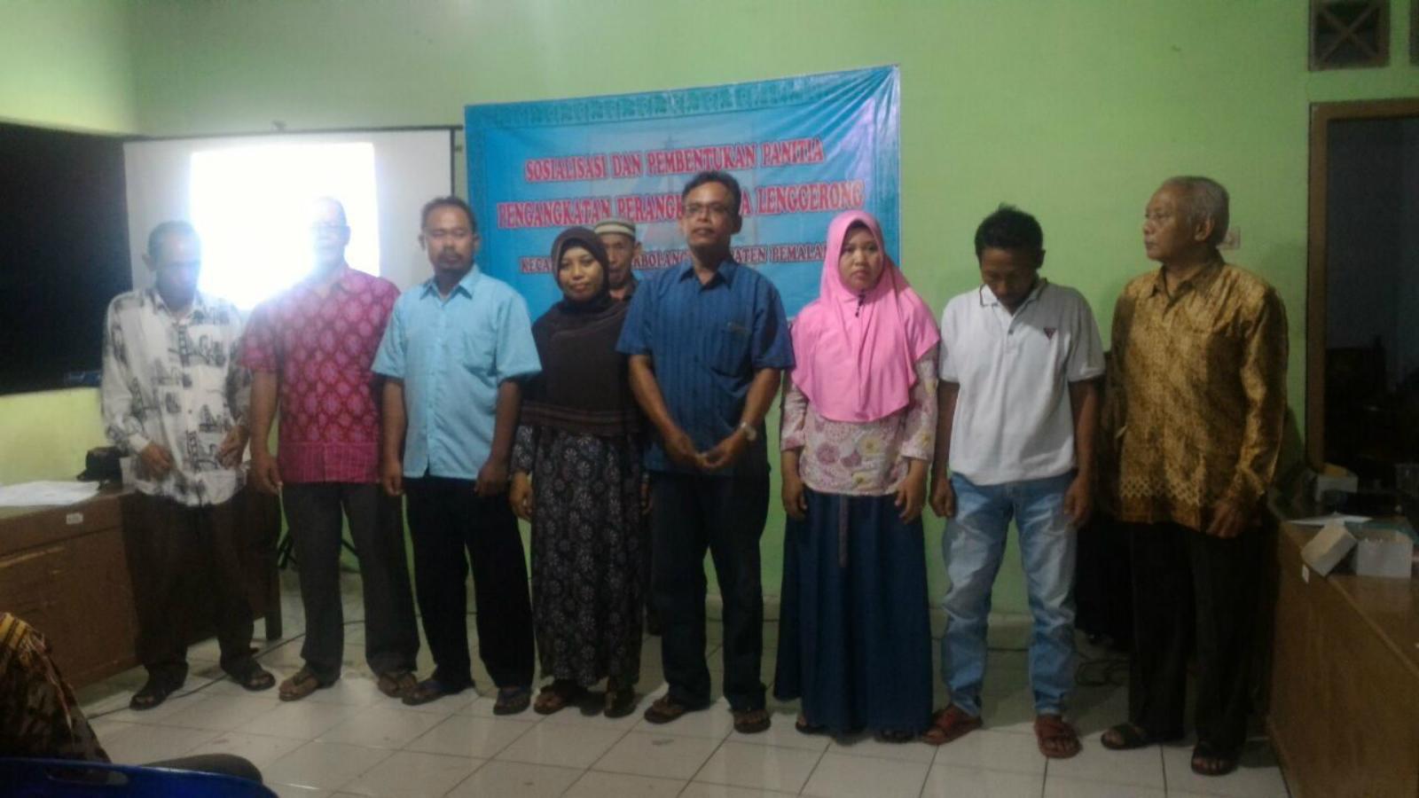 Sosialisasi dan Pembentukan Panitia Pengangkatan Perangkat Desa
