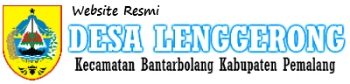 Website Resmi Desa Lenggerong