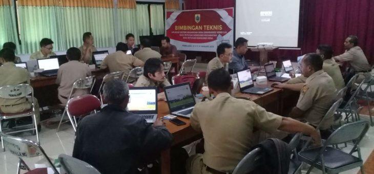Perangkat Desa Lenggerong Ikuti Pelatihan Siskeudes Versi 2.0.1