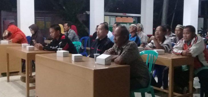 Libatkan Masyarakat Dalam Pembangunan Desa, Pemdes Lenggerong bentuk TPK