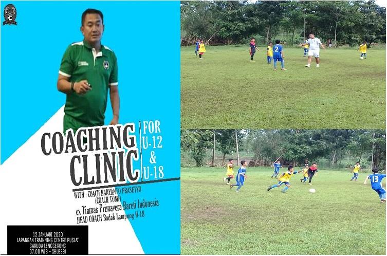 Gelar Coaching Clinic, Pengurus Garuda Lenggerong Hadirkan Haryanto Prasetyo