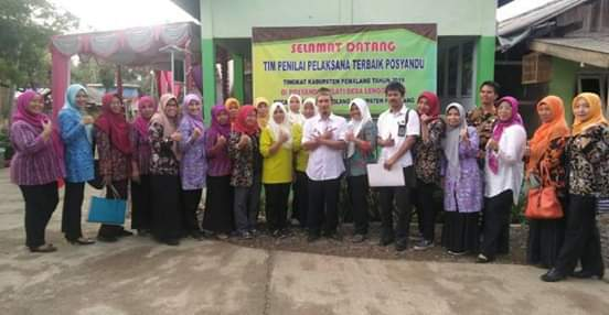 Posyandu Melati Lenggerong Masuk Nominasi 6 Besar Lomba Posyandu Tingkat Kabupaten
