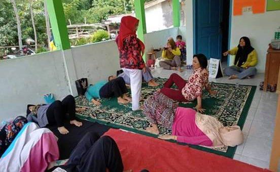 Posyandu Melati Desa Lenggerong Gelar Senam Ibu Hamil